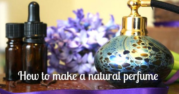 How to make a natural perfume part 1: eau de toilette