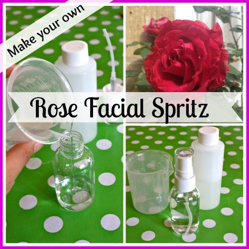 How to make a Rosewater, Aloe and Cucumber Facial Spritz
