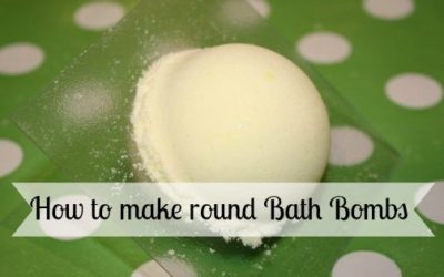 How to Make Sunshine Sparkle Round Bath Bombs
