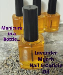 Natural Lavender and Myrrh Nail and Cuticle Treatment Oil recipe Natural Bodycare recipes