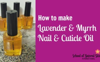 Natural Nail and Cuticle Treatment Oil Recipe