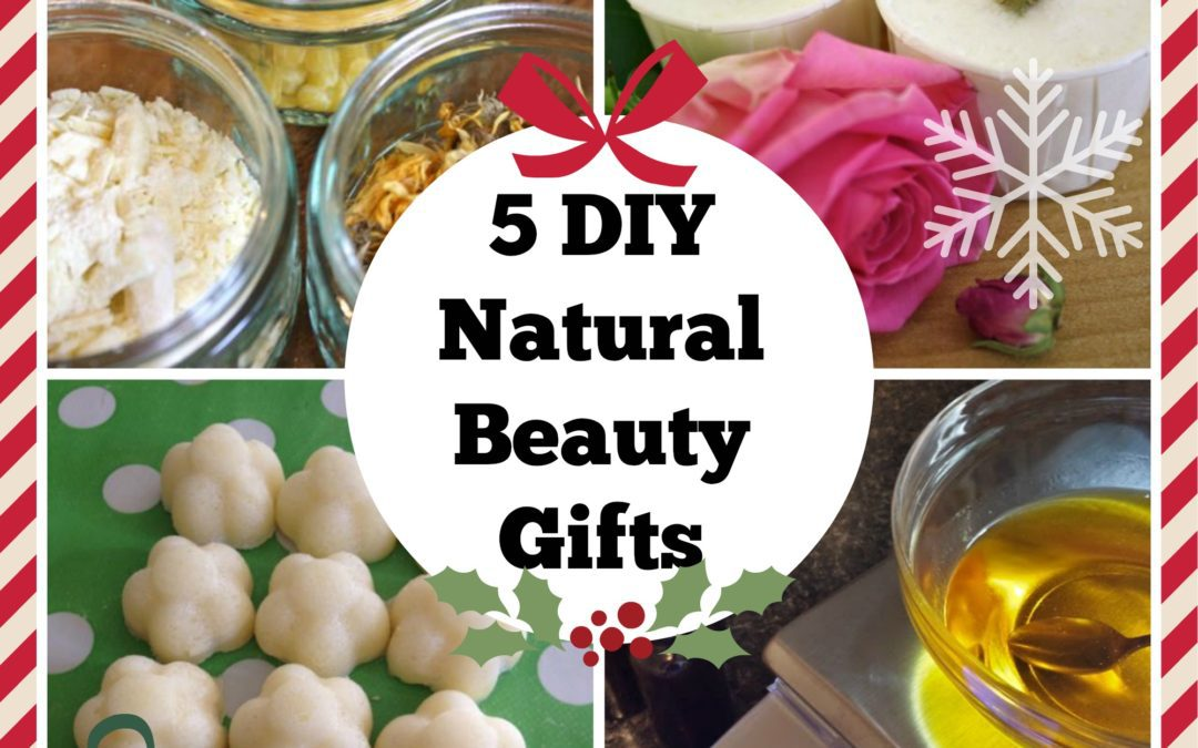 5 natural diy christmas present ideas your friends will love
