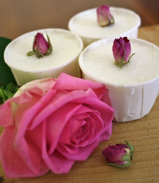Rose and Cocoa Butter Bath Truffles Natural Bodycare recipes