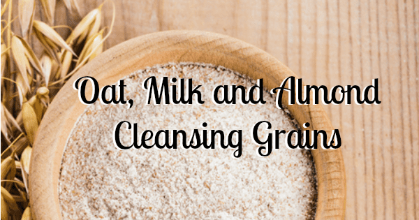 Oat, Milk and Almond Facial Cleansing Grains recipe