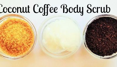 Coconut Coffee Body Scrub Recipe