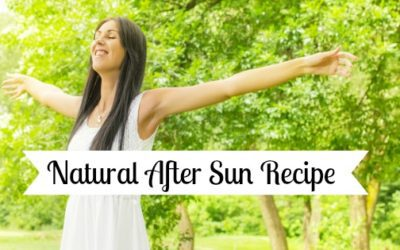Natural After Sun Recipe