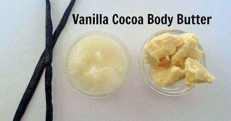 Vanilla Cocoa Body Butter recipe