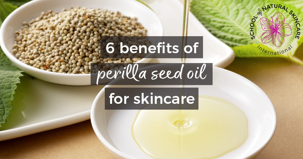6 benefits of perilla seed oil for skin