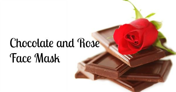 Chocolate and Rose Face Mask
