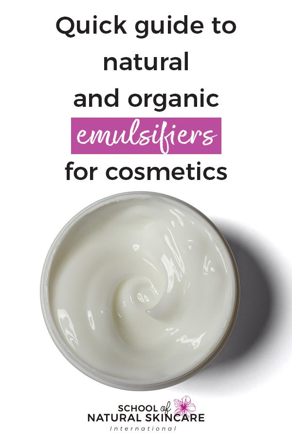 Quick guide to natural and organic emulsifiers for cosmetics Getting started Homepage Highlights Natural Skincare Ingredients