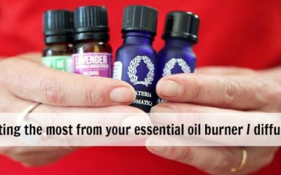 Getting the most from your essential oil burner or diffuser