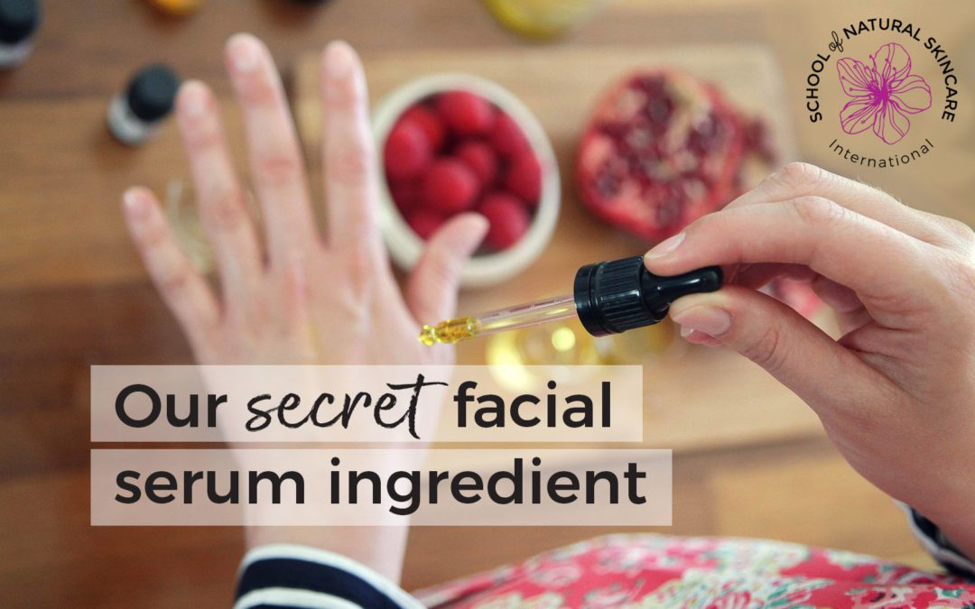 Our secret facial serum ingredient