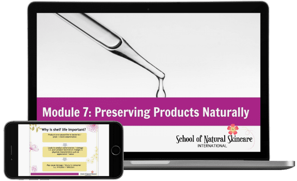 Diploma in natural skincare formulation school of natural skincare module 7 preserving products naturally fandeluxe Gallery