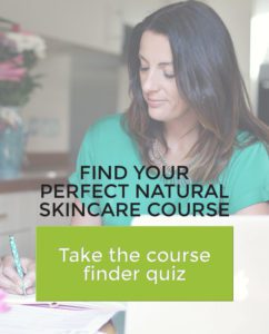 Studying natural skincare formulation