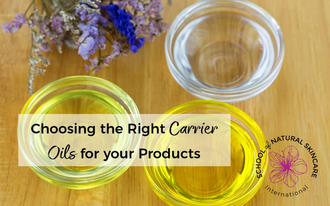 Choosing the Right Carrier Oils for your Product