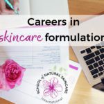 Careers in skincare formulation