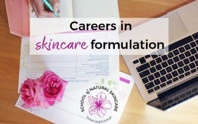 Careers in skincare formulation