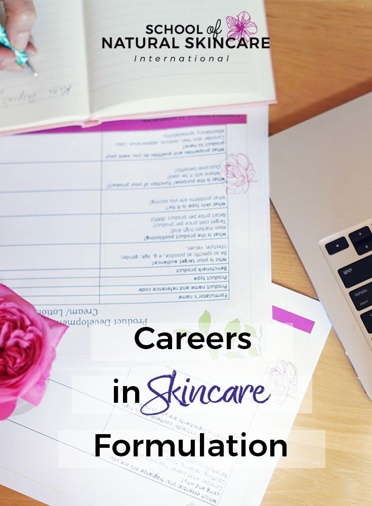 Careers in skincare formulation Business Skincare Formulation