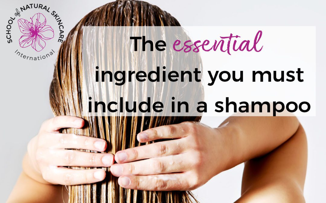 The Essential Ingredient You Must Include In A Shampoo