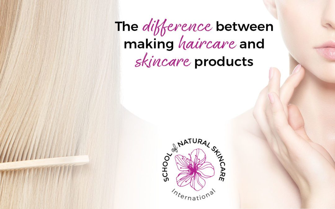 The Difference Between Making Haircare and Skincare Products