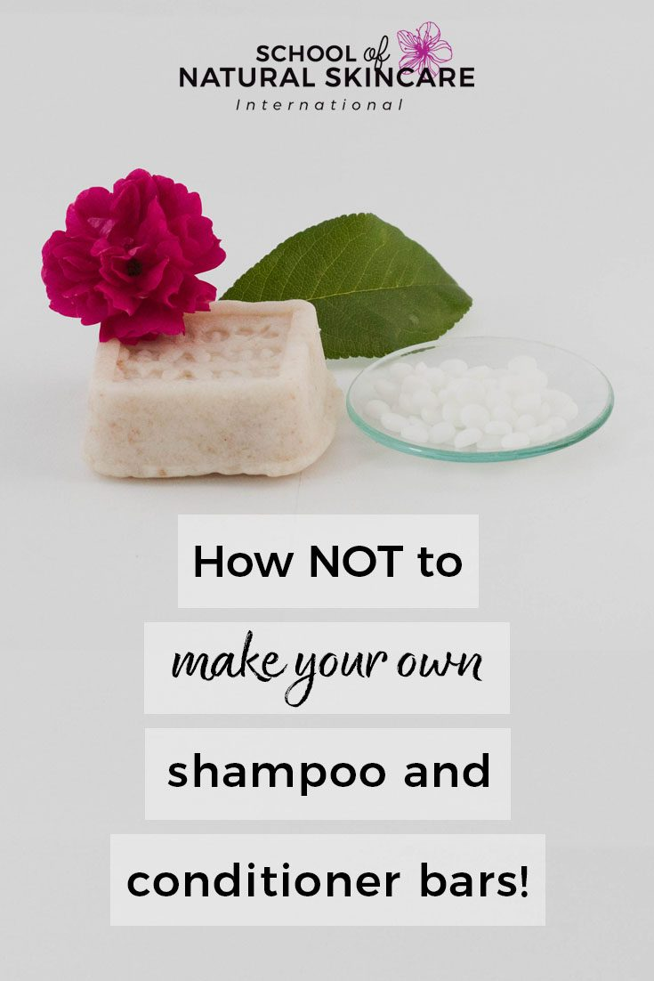 How NOT to Make Your Own Shampoo and Conditioner Bars! Haircare Formulation