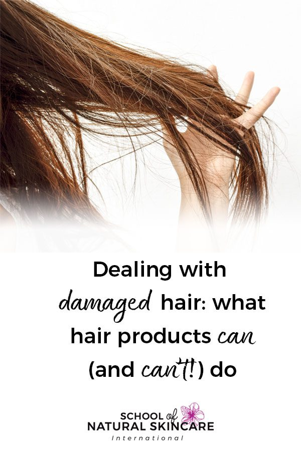 Dealing with Damaged Hair: What Hair Care Products Can (and can't!) Do Haircare Formulation