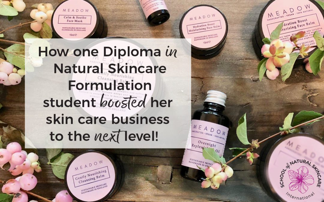 How One Diploma in Natural Skincare Formulation Student Boosted her Skin Care Business to the Next Level!
