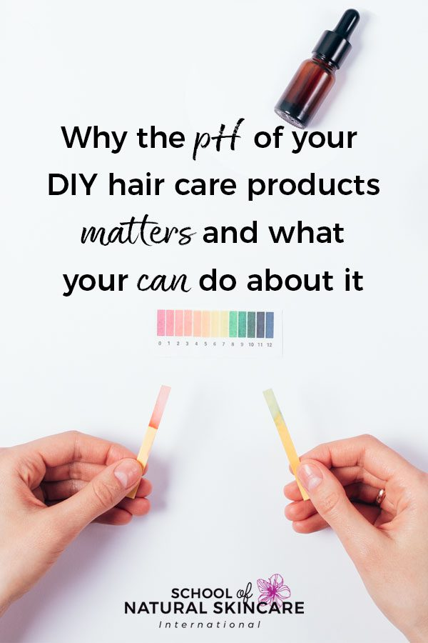 Why the pH of your DIY Hair Care Products Matters (And What You Can Do About It!) Haircare Formulation