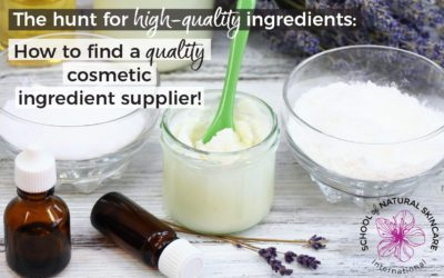 The Hunt for High-Quality Ingredients: How to Find a Quality Cosmetic Ingredient Supplier!