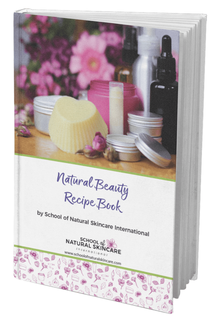 Free Natural Beauty Recipe Book School Of Natural Skincare