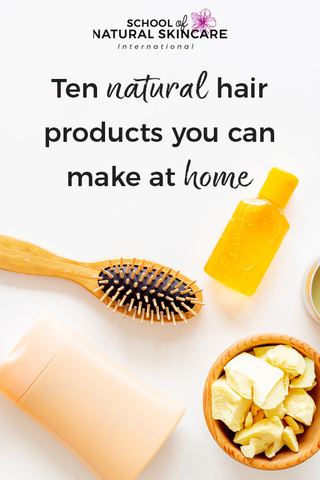 Ten Natural Hair Products You Can Make At Home Haircare Formulation