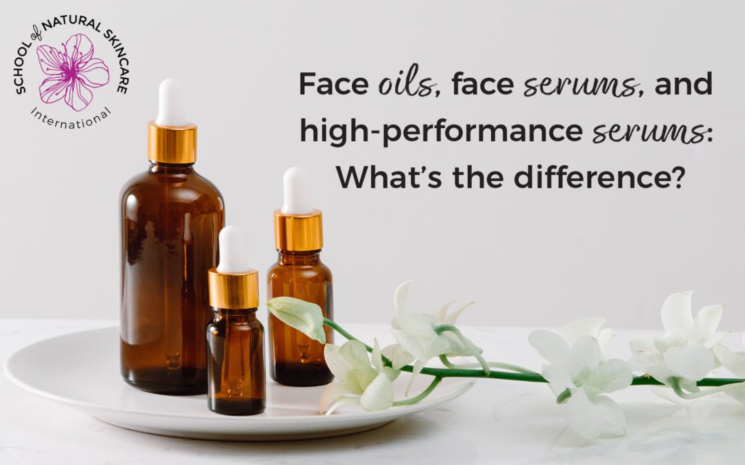 Face Oils, Face Serums, and High-Performance Serums: What's the Difference?