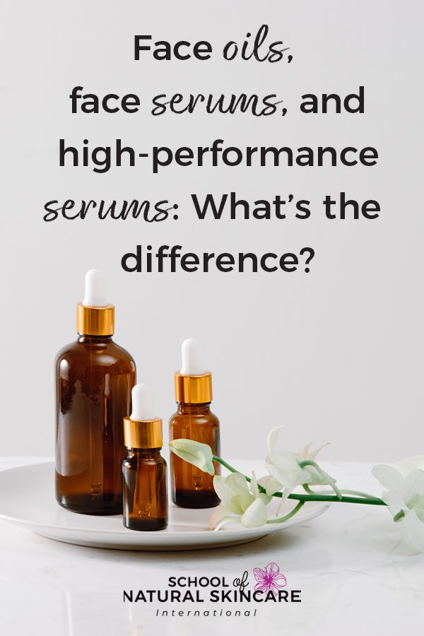 Face Oils, Face Serums, and High-Performance Serums: What's the Difference? Skincare Formulation