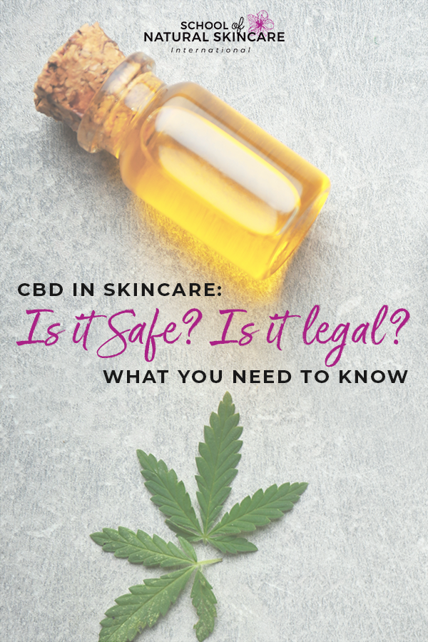 CBD in Skincare: Is it Safe? Is it legal? What you Need to Know Skincare Formulation