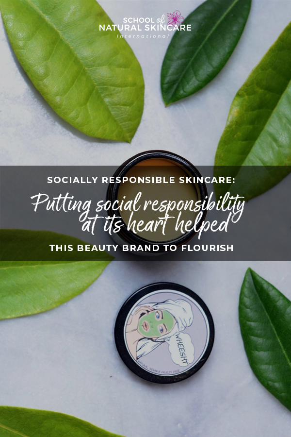 Socially responsible skincare: Putting social responsibility at its heart helped this beauty brand to flourish Skincare Formulation Student success stories