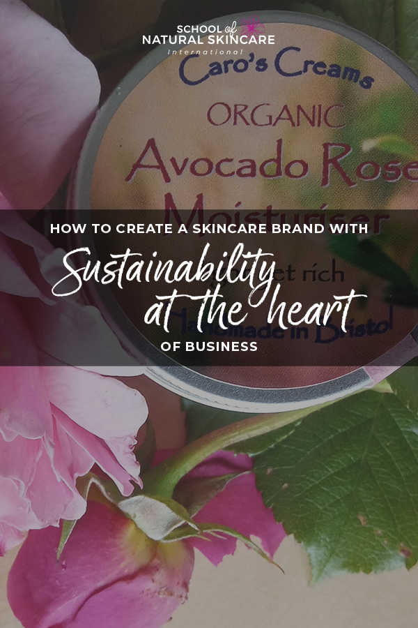 How to create a skincare brand with sustainability at the heart of business Skincare Formulation Student success stories