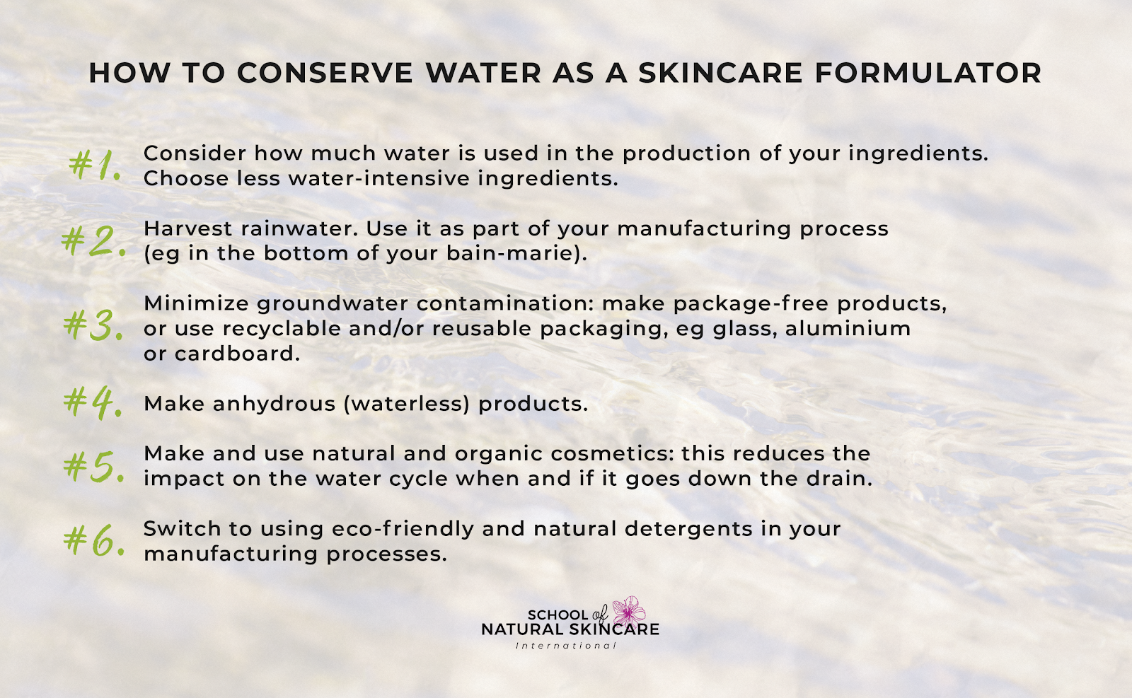 Waterless skincare products: what they are and why to make them Skincare Formulation