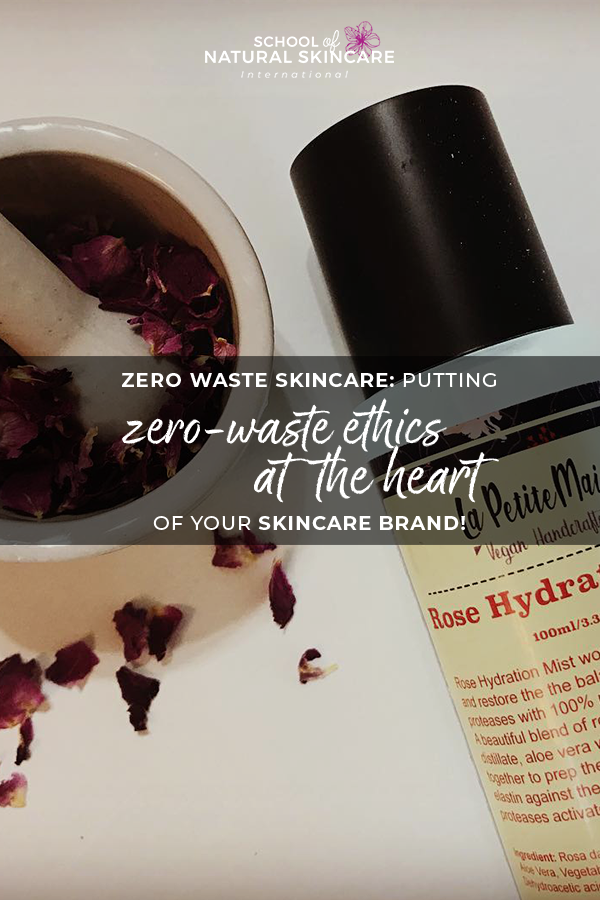 Zero waste skincare: Putting zero-waste ethics at the heart of your skincare brand! Student success stories