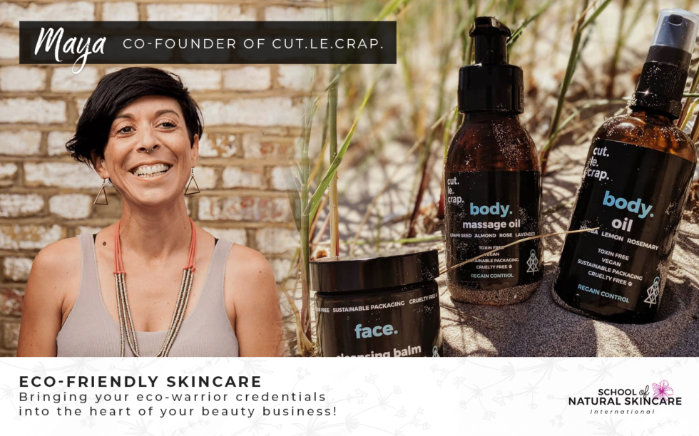 How you can make a difference in the world with Natural Skincare Studying