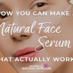 DIY hyaluronic acid serum Natural Facial skincare recipes