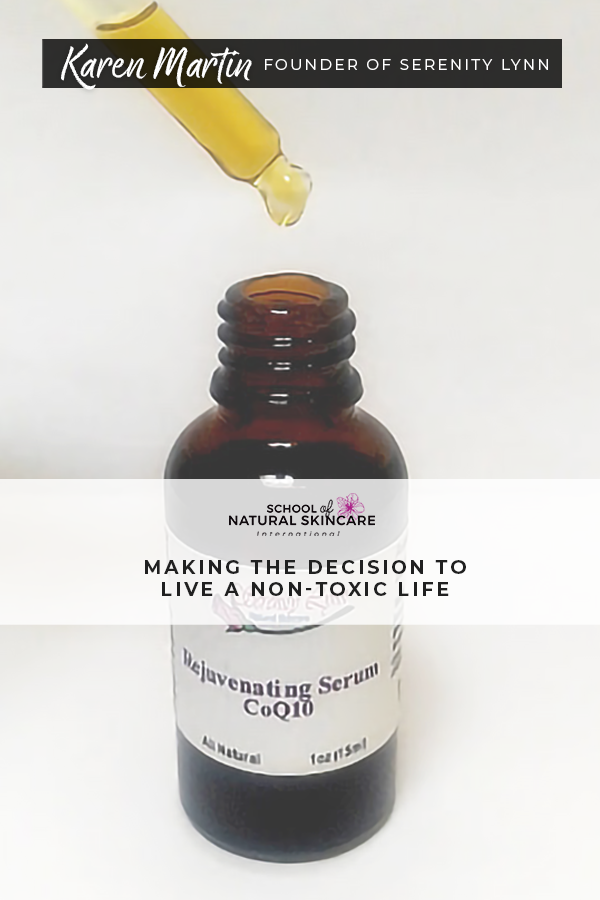 Making the Decision to Live a Non-toxic Life Student success stories