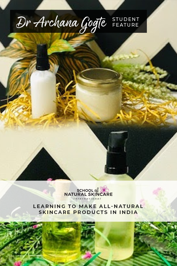 Learning to Make All-Natural Skincare Products Student success stories