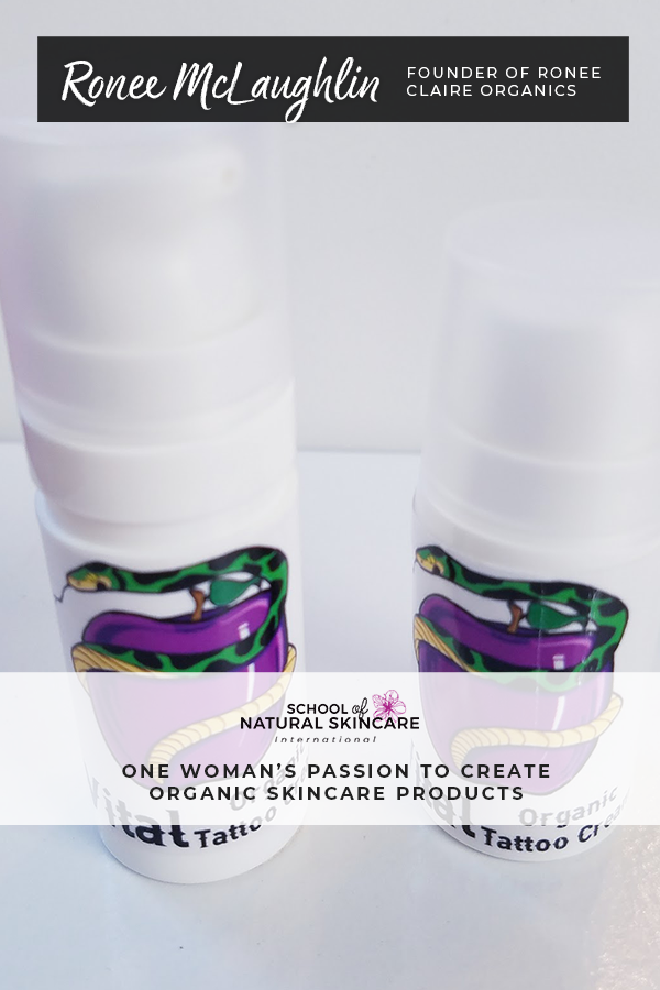 Create Organic Skincare Products: Ronée's Story Student success stories
