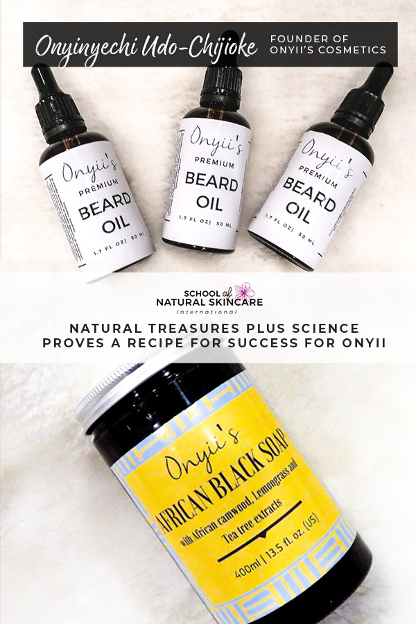 Nature's Bounty Plus Natural Skincare Science Proves a Recipe for Success for Onyii Student success stories