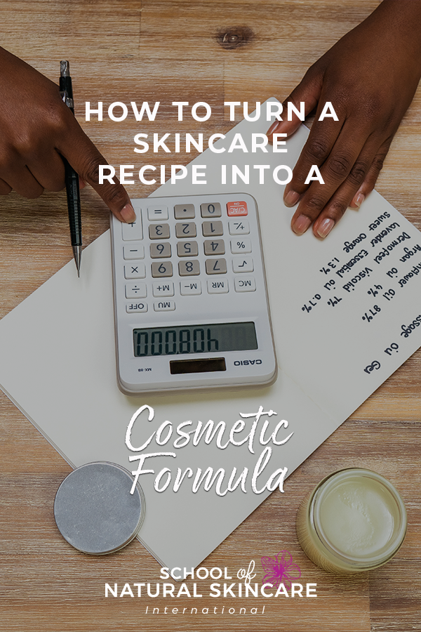 How to turn a skincare recipe into a cosmetic formula Skincare Formulation