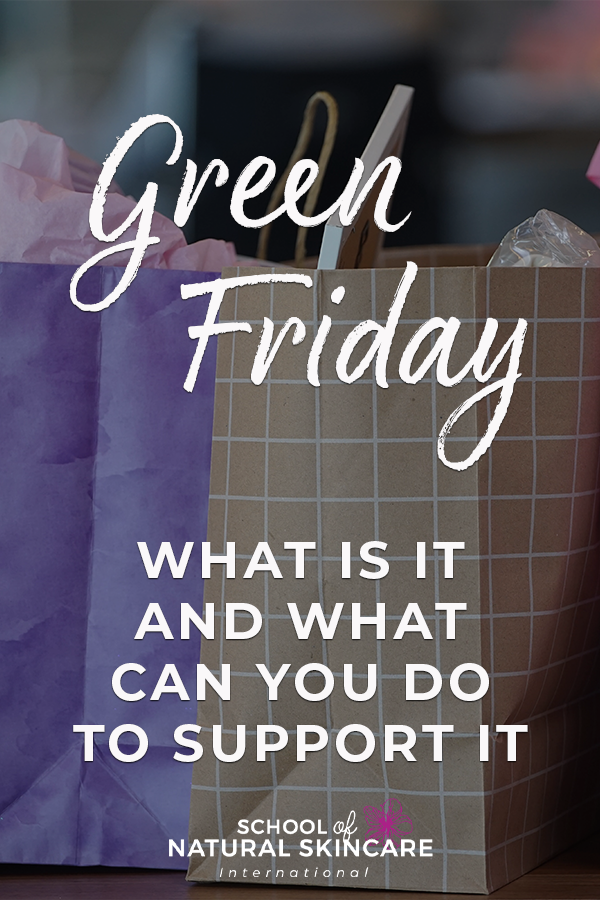 Green Friday - what is it and what can you do to support it Behind the scenes