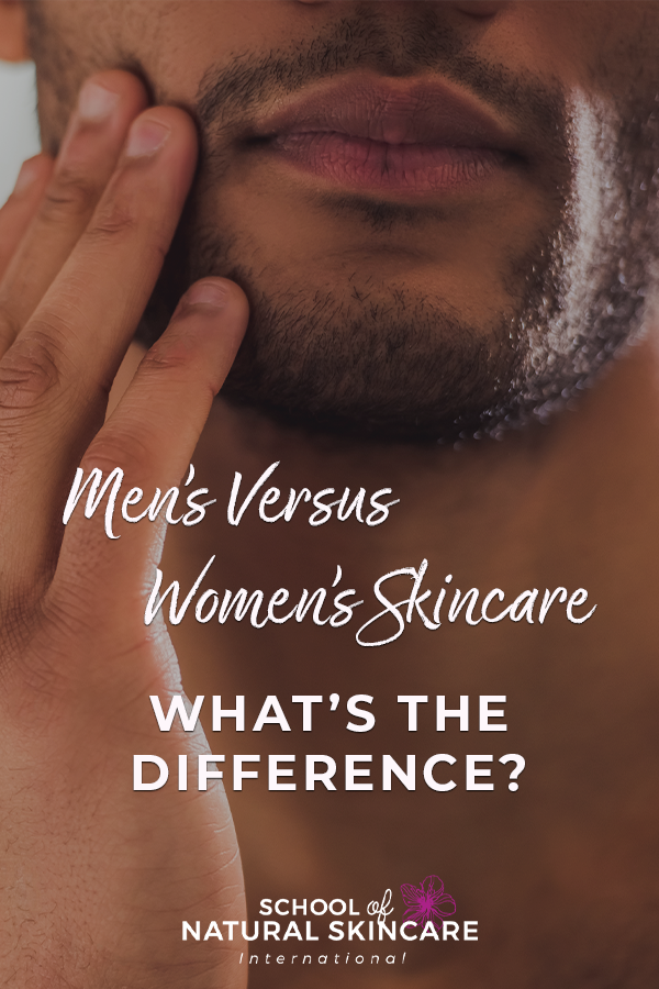 Men's Versus Women's Skincare – What's the Difference? Skincare Formulation