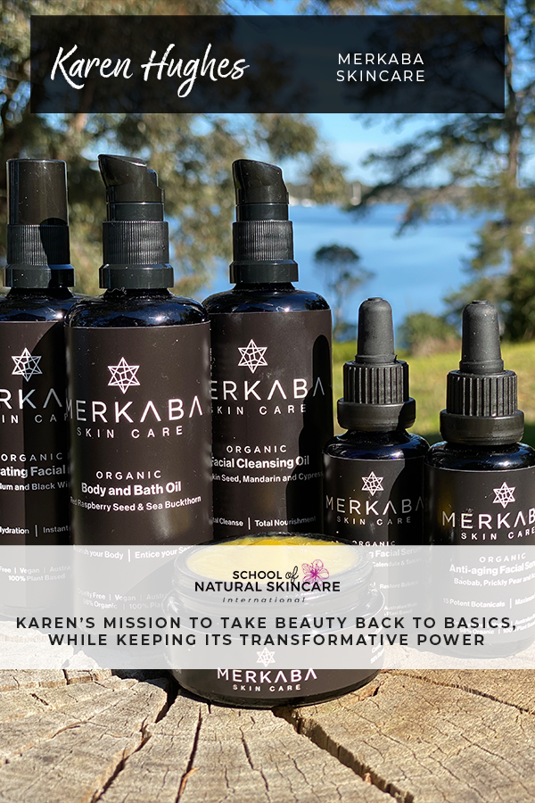 """A ritual rather than a routine"": Karen's mission to take beauty back to basics, while keeping its transformative power Student success stories"