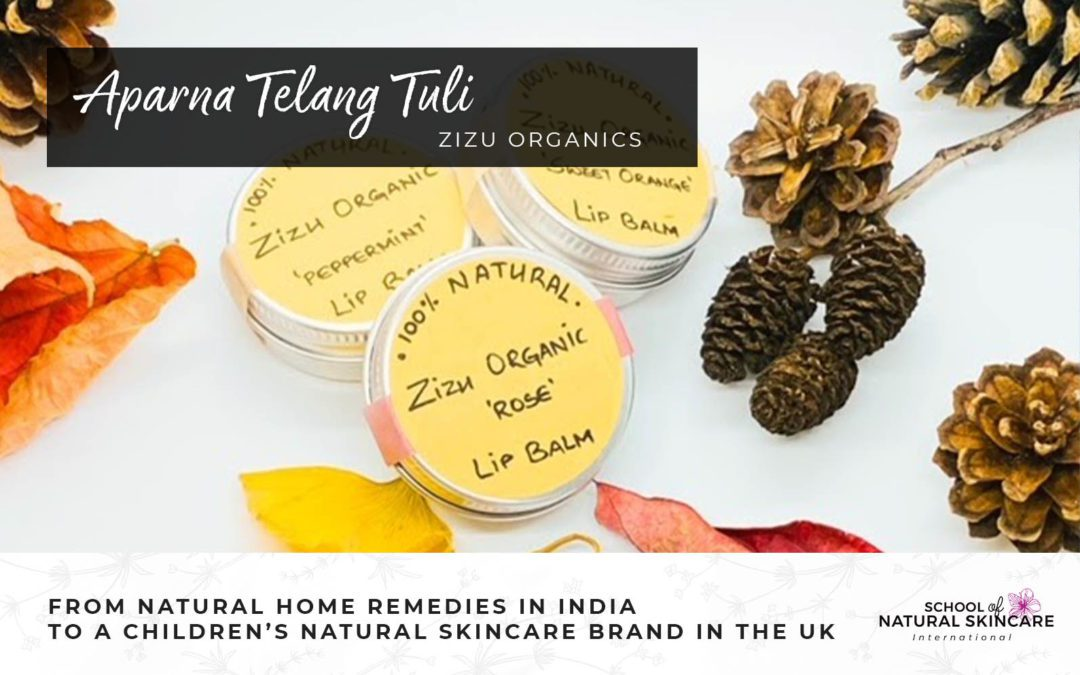 From Natural Home Remedies in India to a Children's Natural Skincare Brand in the UK