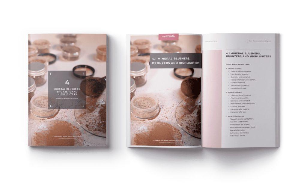 Formulating Mineral Makeup